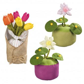 Стопперы для двери, цветы