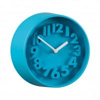 Часы настенные Ø22, голубые