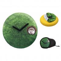 Часы настенные Трава Ø50