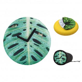 Часы настенные Лист Ø50