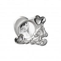 Фоторамка с мишкой и сердечками