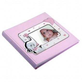 Детский фотоальбом Слоник, розовый