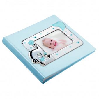 Детский фотоальбом Слоник, голубой