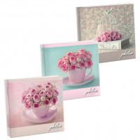 Фотоальбом для записей Цветы 100 фото, 13x19 см