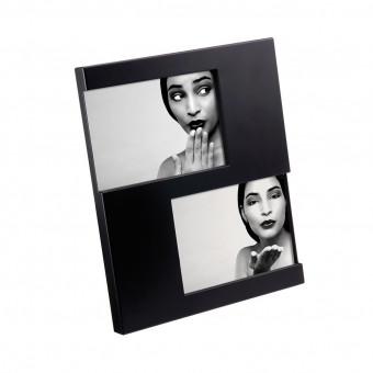 Фоторамка на 2 фото, черная
