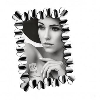 Фоторамка Сердца с кристаллами Swarovski