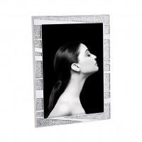 Фоторамка Блестки с посеребренными полосками, 13x18 см