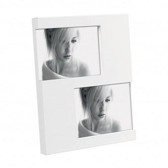Фоторамка на 2 фото, белая