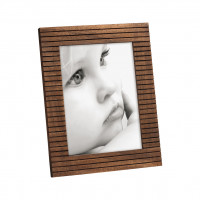 Фоторамка Sollid wood линии 15х20 см, темно-коричневая