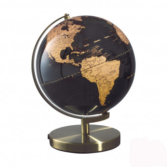 Глобус настольный с подсветкой Вселенная, d30 см