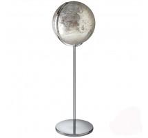 Глобус напольный с подсветкой Атмосфера серый, h131 см