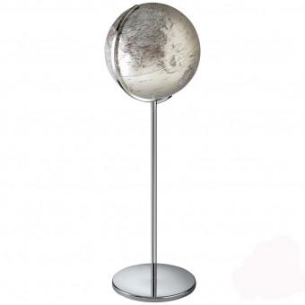 Глобус напольный с подсветкой Атмосфера h131 см, цвет серый