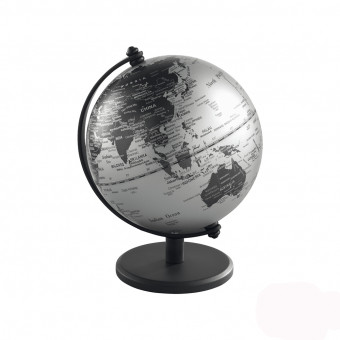 Глобус серый матовый, d13 см