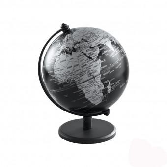 Глобус черный матовый, d13 см