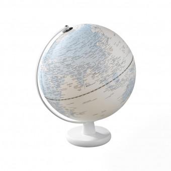 Глобус с подсветкой Ø30, голубой