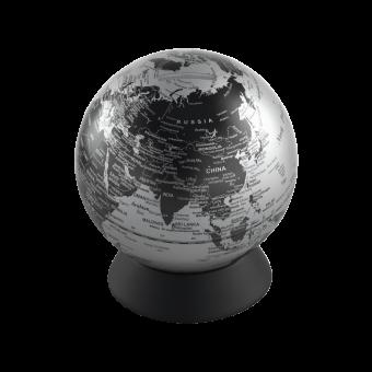 Глобус-копилка серый матовый, Ø13