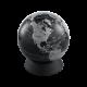 Глобус-копилка черный матовый, Ø13