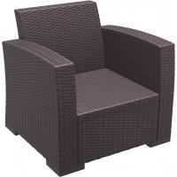 Кресло пластиковое плетеное Monaco Lounge