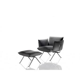 Кресло Officina с оттоманкой