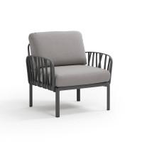 Кресло Komodo Poltrona, антрацит