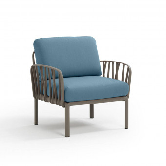Кресло Komodo Poltrona, тортора