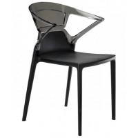 Кресло пластиковое Ego-K, черное