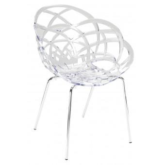 Кресло прозрачное Flora ML
