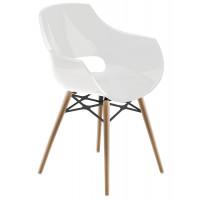 Кресло Opal Wox на светлых ножках