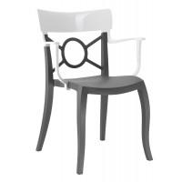 Кресло Opera-K, антрацит