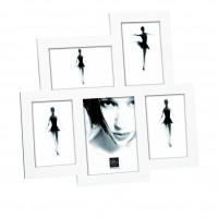 Мультирамка Портретные вариации на 5 фото