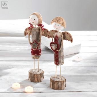 Новогодний декор 2 ангелочка