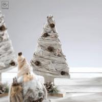 Новогодний декор Нарядная елка, 41 см