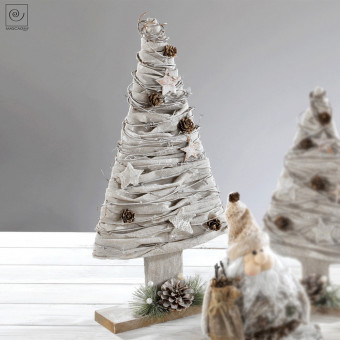Новогодний декор Изящная елка, 53 см