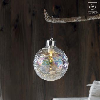 Новогодний набор из 4 радужных шариков