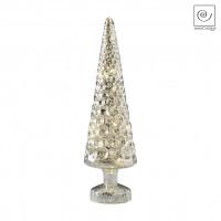 Новогодний декор Елка из кристаллов, 31,5 см