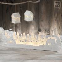 Новогодняя LED декорация Волшебный лес