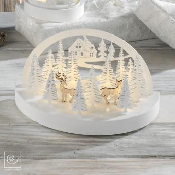 Новогодняя LED декорация Рождественский лес