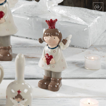 Новогодний декор Маленькая принцесса ангел, 15 см