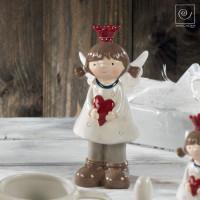 Новогодний декор Маленькая принцесса ангел, 22 см