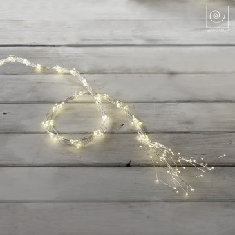Новогодняя елочная гирлянда на 300 фонарей, 100 см