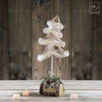 Новогодний декор Танцующая елка, 46 см