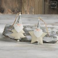 Новогодний набор елочные игрушки 2 Деда мороза