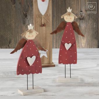 Новогодний набор 2 маленькие принцессы ангелочки