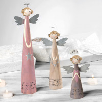 Новогодний набор 3 фигурки ангелочков