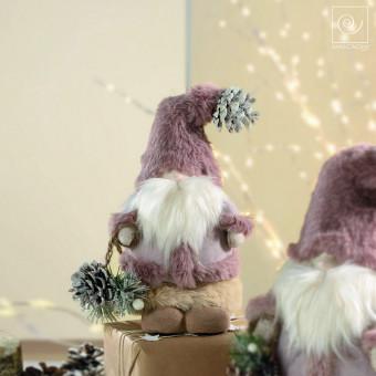 Новогодний декор Санта Клаус, 25 см