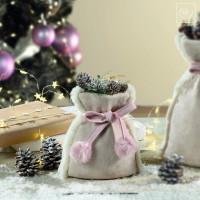 Новогодний декор Декоративный мешочек, 20 см
