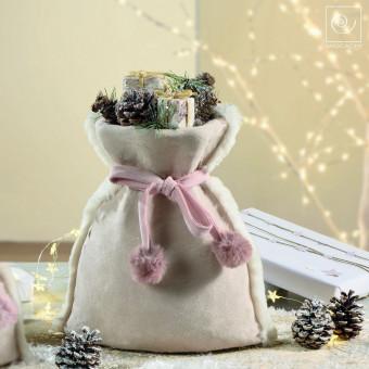 Новогодний декор Декоративный мешочек, 30 см