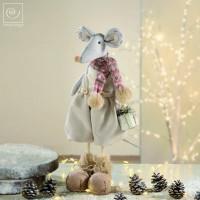 Новогодний декор Мышонок, 47 см