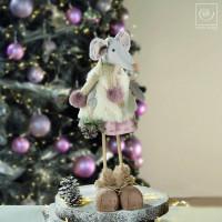 Новогодний декор Мышка, 47 см