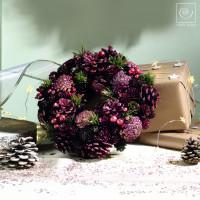 Новогодний декор Венок, d26 см